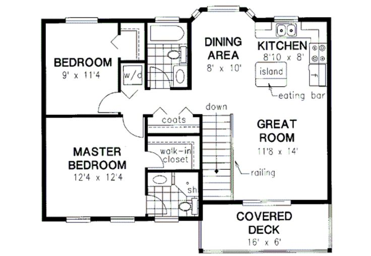 20 best in law additions images on pinterest for 2 bedroom garage apartment floor plans