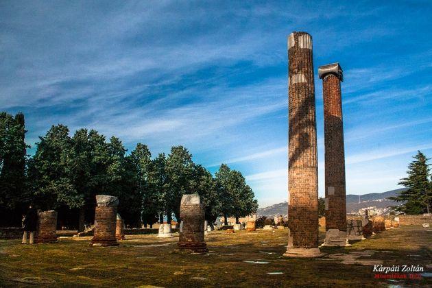 Trieszt római maradványok