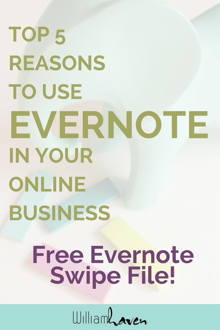 Still looking for that perfect all-in-one business hub? Solopreneurs, look no further! Evernote has you covered, and here's 5 big reasons why it's perfect for your online biz. Read more & sign up to get a swipe notebook to get started systematizing your business today!