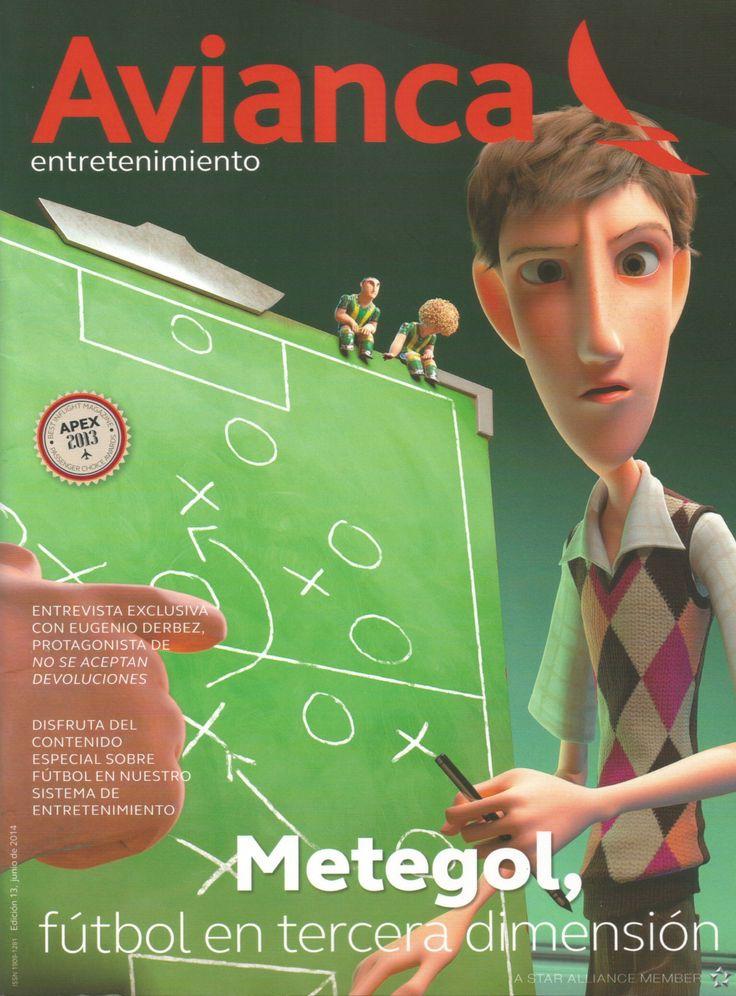 Dr. Escobar : Un auténtico especialista en Rinoplastia / Dr. Escobar : A top specialist in Rhinoplasty --- Portada AVIANCA Entretenimiento - Edición 13, junio de 2014 / Cover of AVIANCA Entertainment - 13th Edition, June 2014