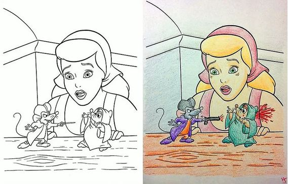 81 Best Corrupted Coloring Books Images On Pinterest