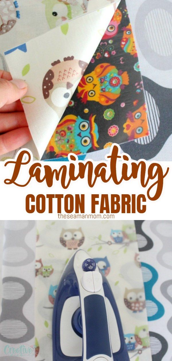 How To Laminate Fabric At Home In 2020 Crafts Sewing Patterns Laminated Fabric Sewing Crafts