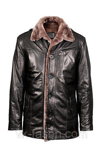 Универсальное решение: зимние кожаные куртки мужские