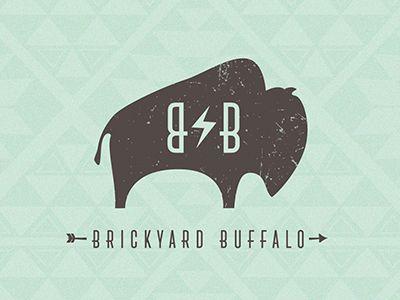 This is a recent logo design we did for brickyardbuffalo.com.