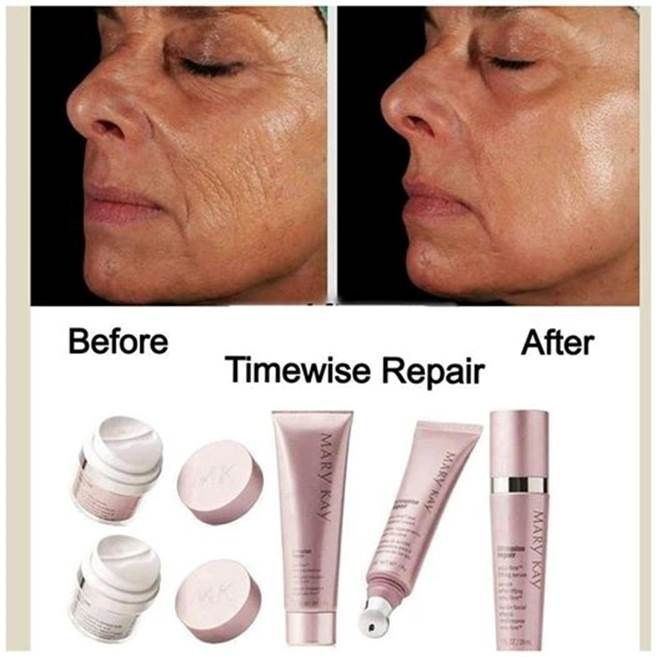 WOW Mary Kay TimeWise Repair results!!!
