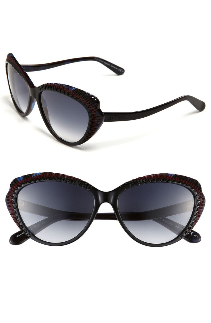 Sunglasses On Sale, Berry, 2017, one size McQ by Alexander McQueen