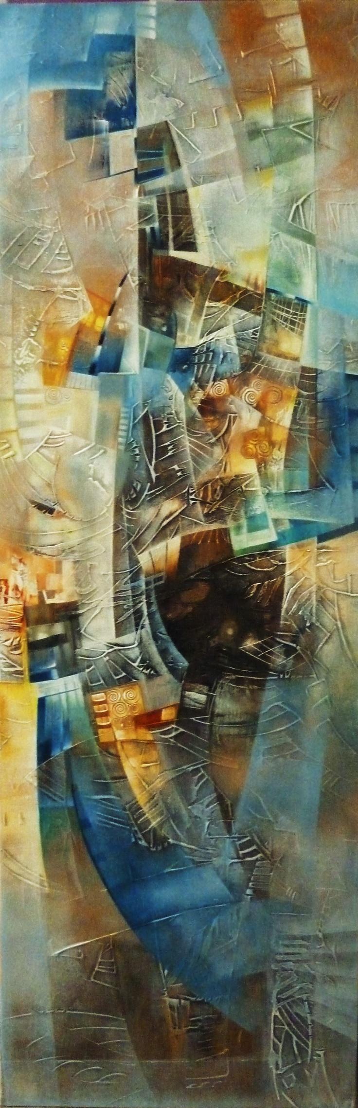 abstract art by amandine et romain Torrente