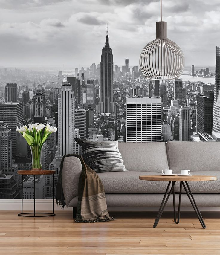 Fotomural Nueva York en Blanco y Negro SD323 - Descubre en nuestra tienda online, una de las mejores ofertas de internet en cuanto a fotomurales decorativos para paredes fabricados en papel pintado blue back , se trata de una selección de la firma alemana Sunny Decor que ahora encontraras en nuestra tienda online rebajados al 50%