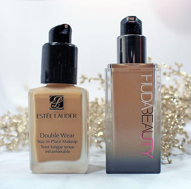 HUDA Beauty #FauxFilter Foundation Review & Comparison to Estee Lauder Double Wear