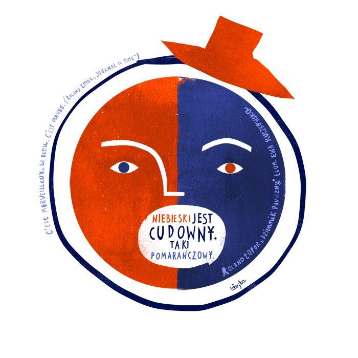 "Roland Topor, ""Journal in time"" - Joanna Grochocka for International Translation Day - Gdańsk 2013"