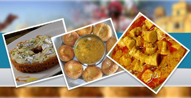 Relish the Royal Food and Lip Smacking Slenderness on your Rajasthan Tour! #WonderfulRajasthan