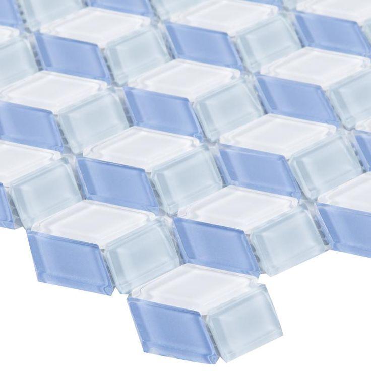 Стеклянная плитка-мозаика