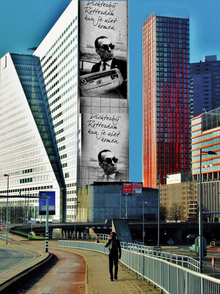 A local enjoying a stroll in the city #Rotterdam