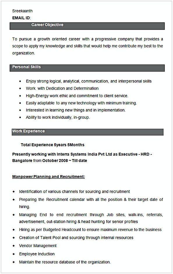 Executive Hrd Resume Sample Hr Manager Resume Sample This Hr Manager Resume Sample Article Below Is Worth To Read By Yo Manager Resume Hr Management Resume