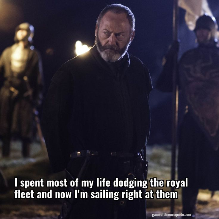 Davos seaworth: I spent most of my life dodging the royal fleet and now I'm sailing right at them