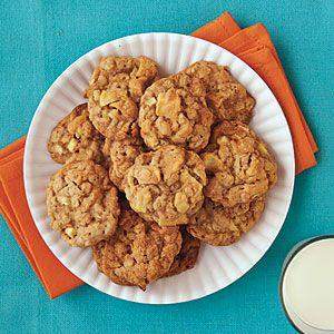 Chewy Caramel Apple Cookies | MyRecipes.com