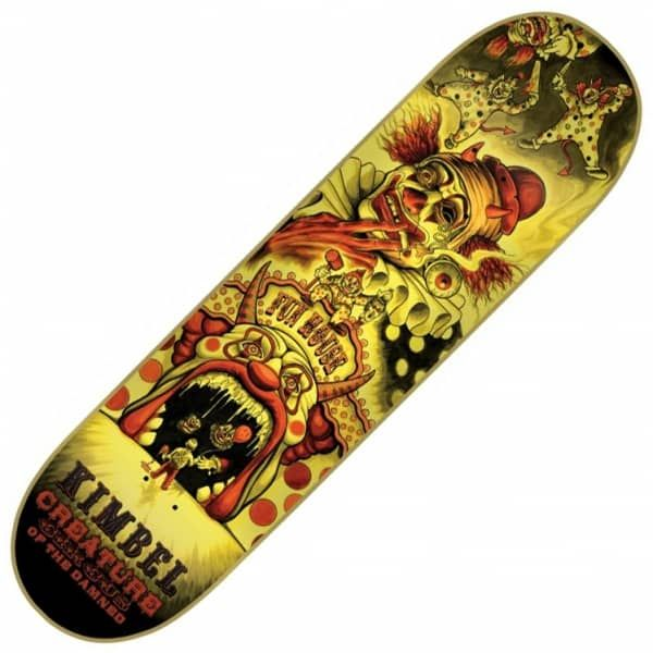 "Creature Skateboards Kimbel Circus Of the Damned Skateboard Deck 9.0"" - Creature Skateboards from Native Skate Store UK"
