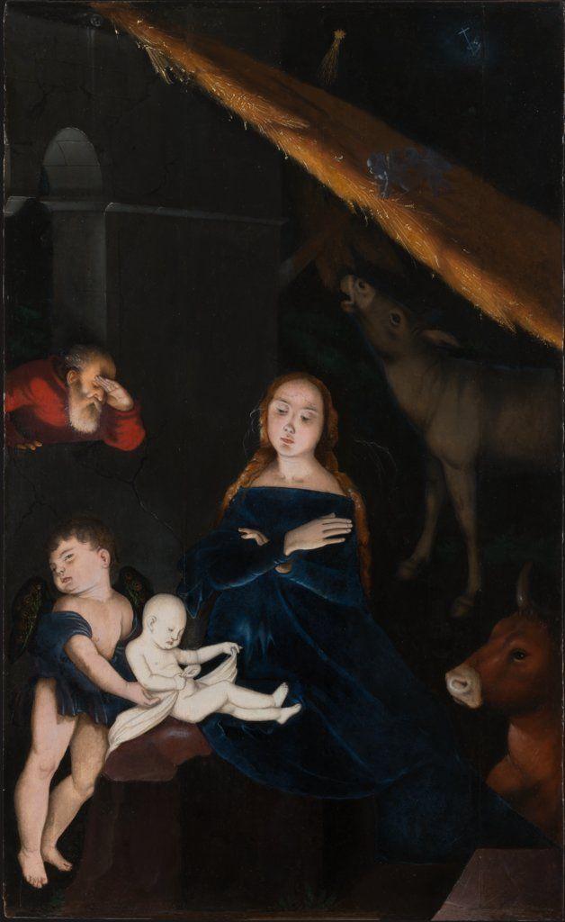The Birth of Christ / El Nacimiento de Cristo // c.1525-1530 // Hans Baldung Grien // © Städel Museum // #Christmas #Navidad #Noël #Natale