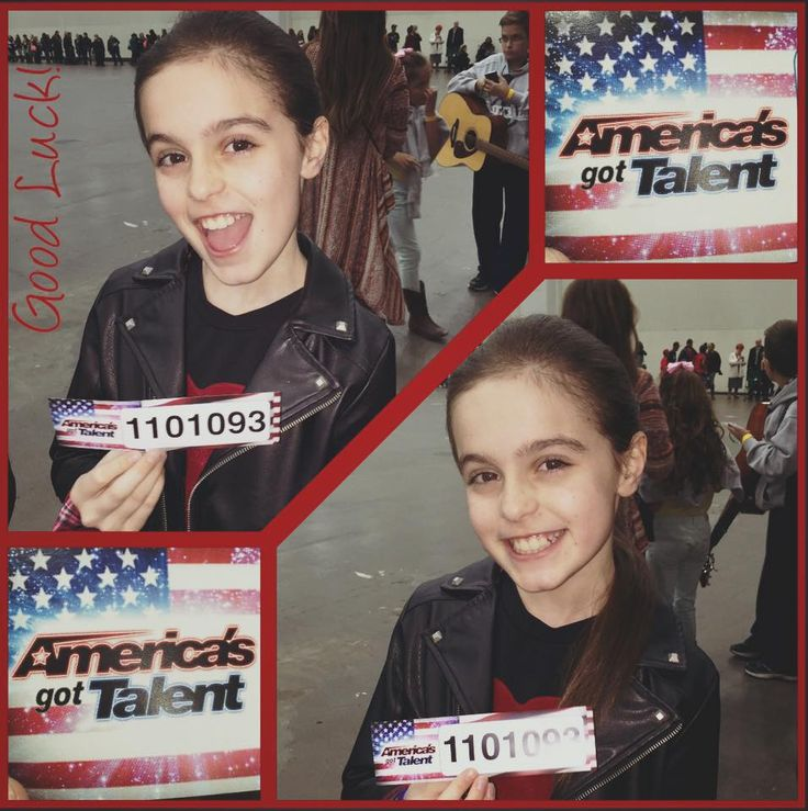 National American Miss Jr.Pre-Teen Tatum Pearlman auditioned for America's Got Talent! #NAM