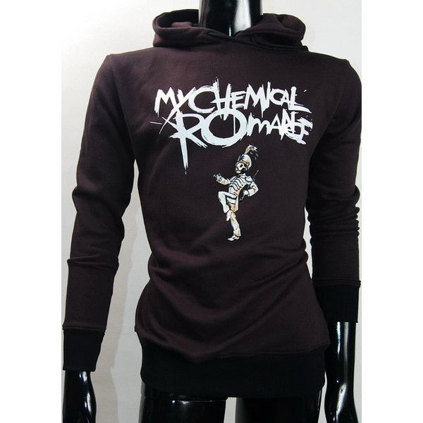 My Chemical Romance Hoodie Sweatshirts Jumper Jacket S, M, L ($36) ❤ liked on Polyvore