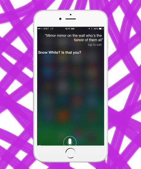 Weirdest Things Siri Says | Siri is always evolving, and so is her sense of sass. Here are the 10 weirdest and funniest things the virtual assistant says. #refinery29 http://www.refinery29.com/the-10-weirdest-things-siri-says