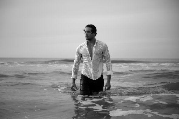 Fantastische fotoserie - Hete mannen in de zee