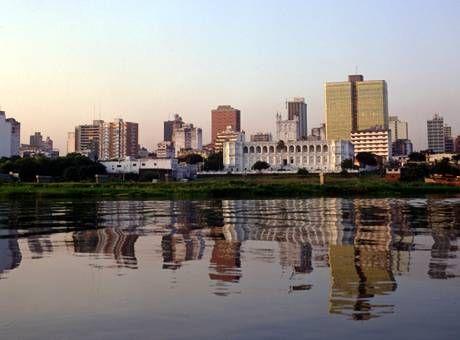 Río Paraguay, Asunción, Paraguay.