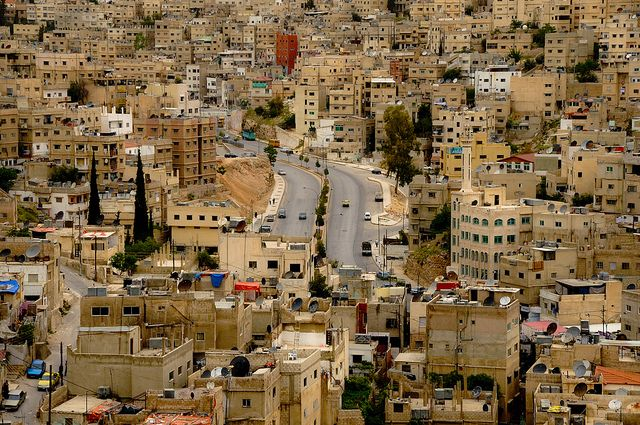 JORDAN / Amman / Center streets by Manu Foissotte