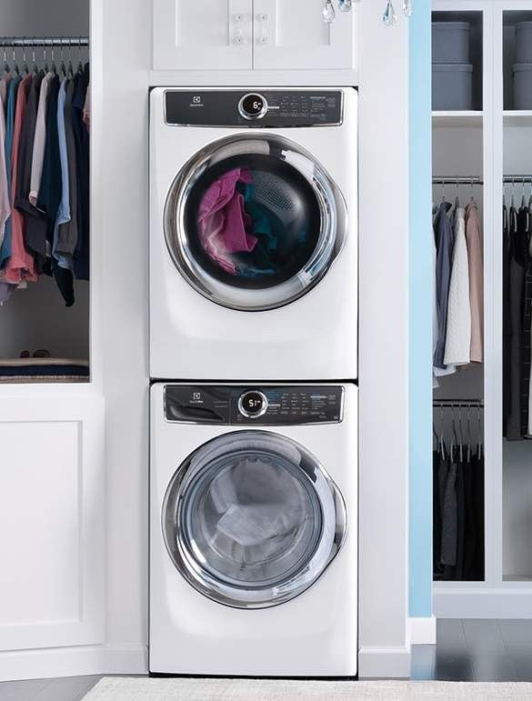 17 best ideas about stacked washer dryer on pinterest best stackable washer dryer stackable. Black Bedroom Furniture Sets. Home Design Ideas