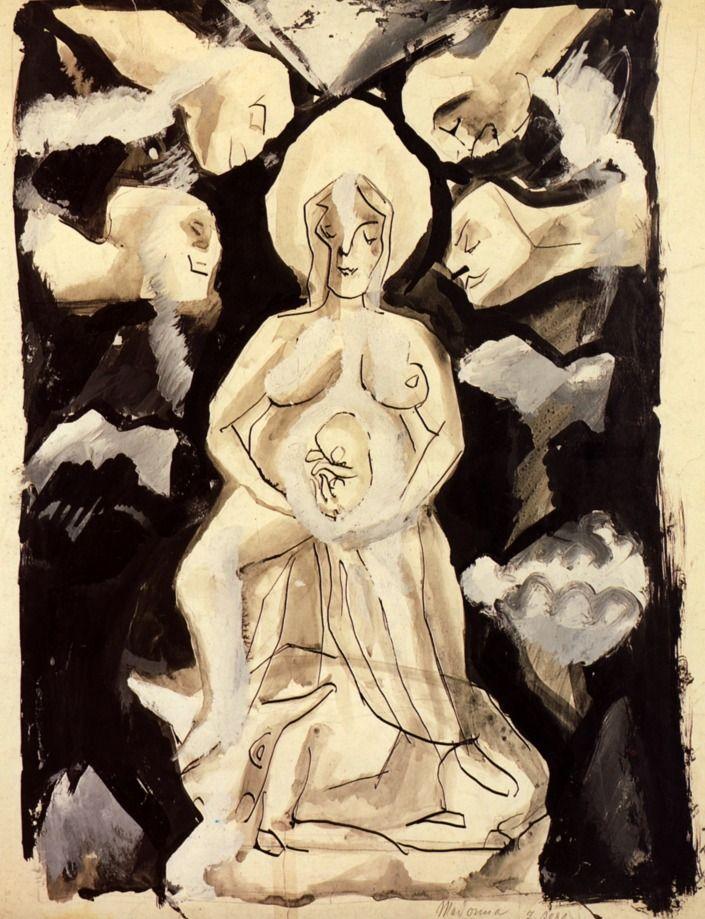 Otto Dix - Madonna (1914)