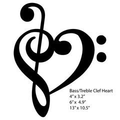 17 Best Ideas About Treble Clef Heart On Pinterest Music