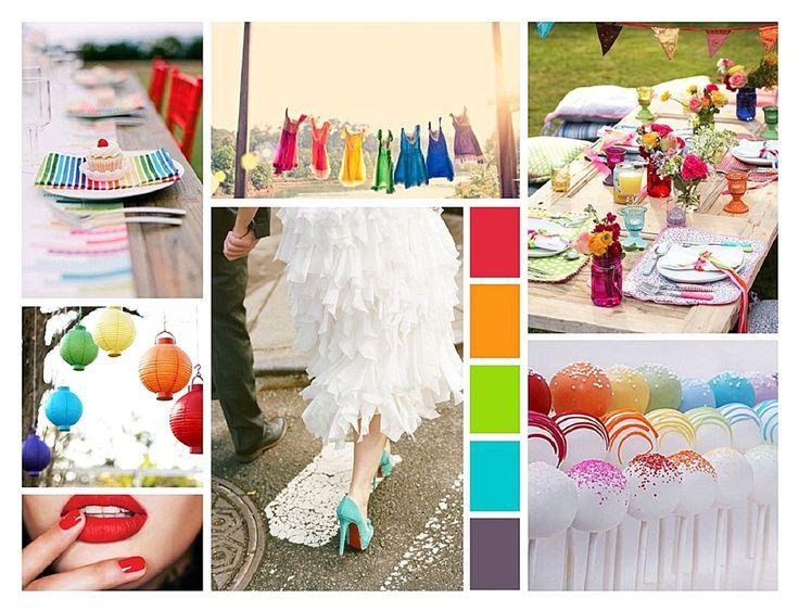 Rainbow Love | Decoratie  feestartikelen | TrouwStart