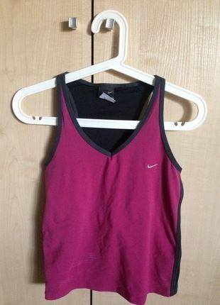 Kup mój przedmiot na #vintedpl http://www.vinted.pl/damska-odziez/odziez-sportowa/14703871-nike-rozowa-bluzka-sportowa-z-topem