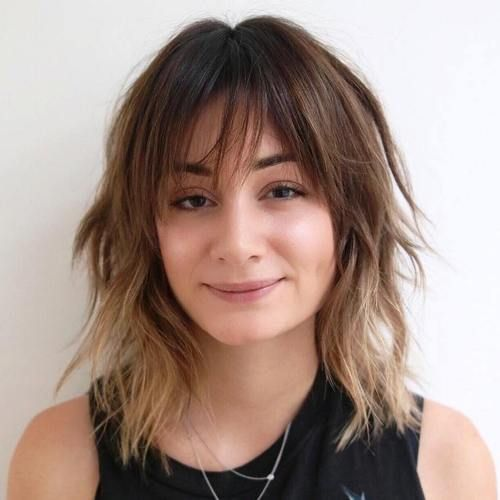 long shag haircuts 25 best ideas about shaggy bob hairstyles on 1064 | 3b12935e49511a66c8430acd8427ffce female hairstyles shag hairstyles