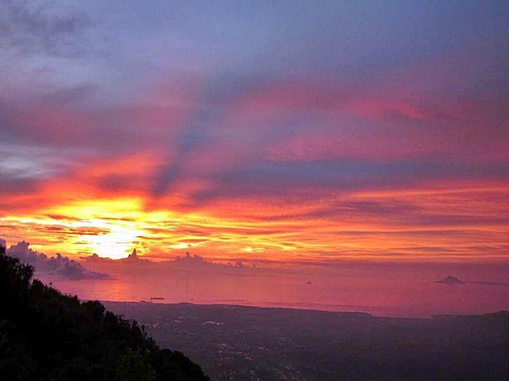 Sunset Pulosari Mount #PINdonesia