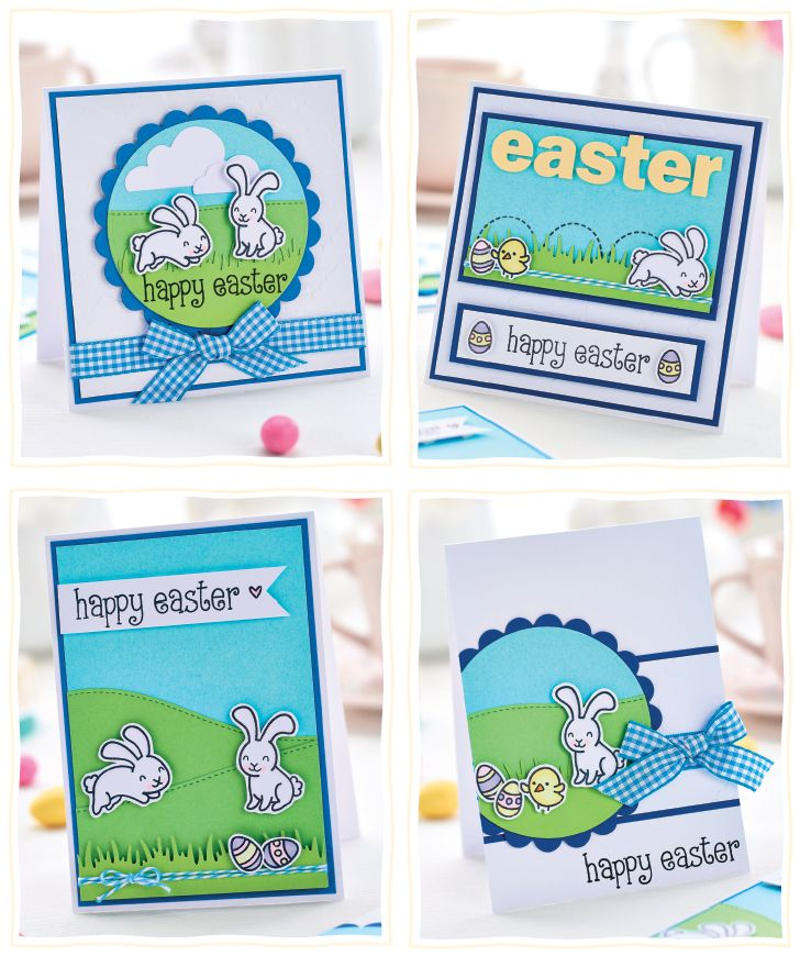 Fab Template: Discover How To Make These Fab Four Easter Greeting Cards