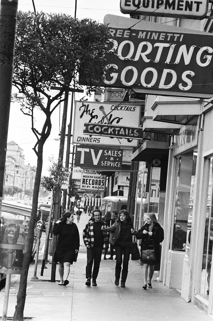 Welcome to Haight-Ashbury, capital of the hippies.