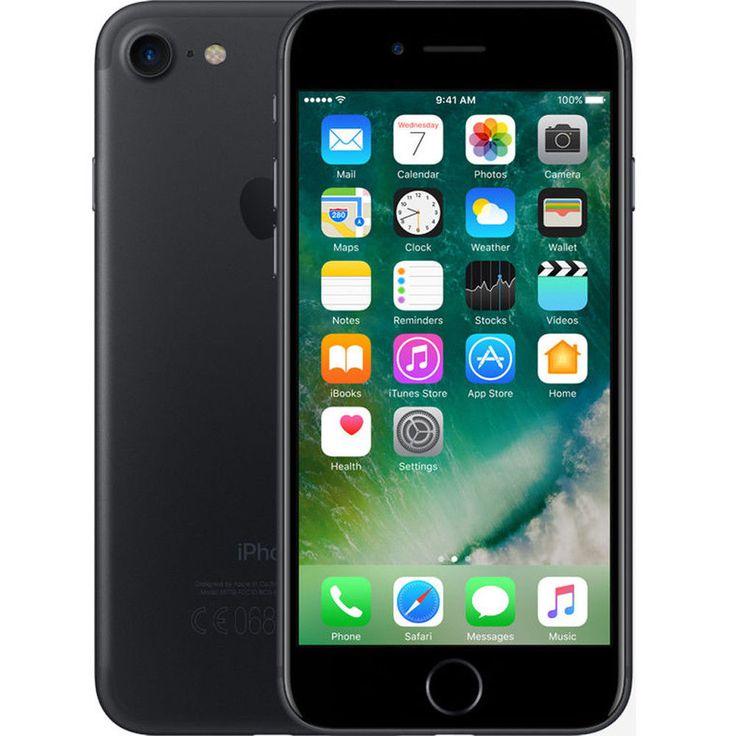 Brand New Apple iPhone 7 32GB Matte Black MN8X2B/A LTE 4G Factory Unlocked UK