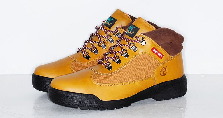 SUPREME X TIMBERLAND FIELD BOOT PREVIEW