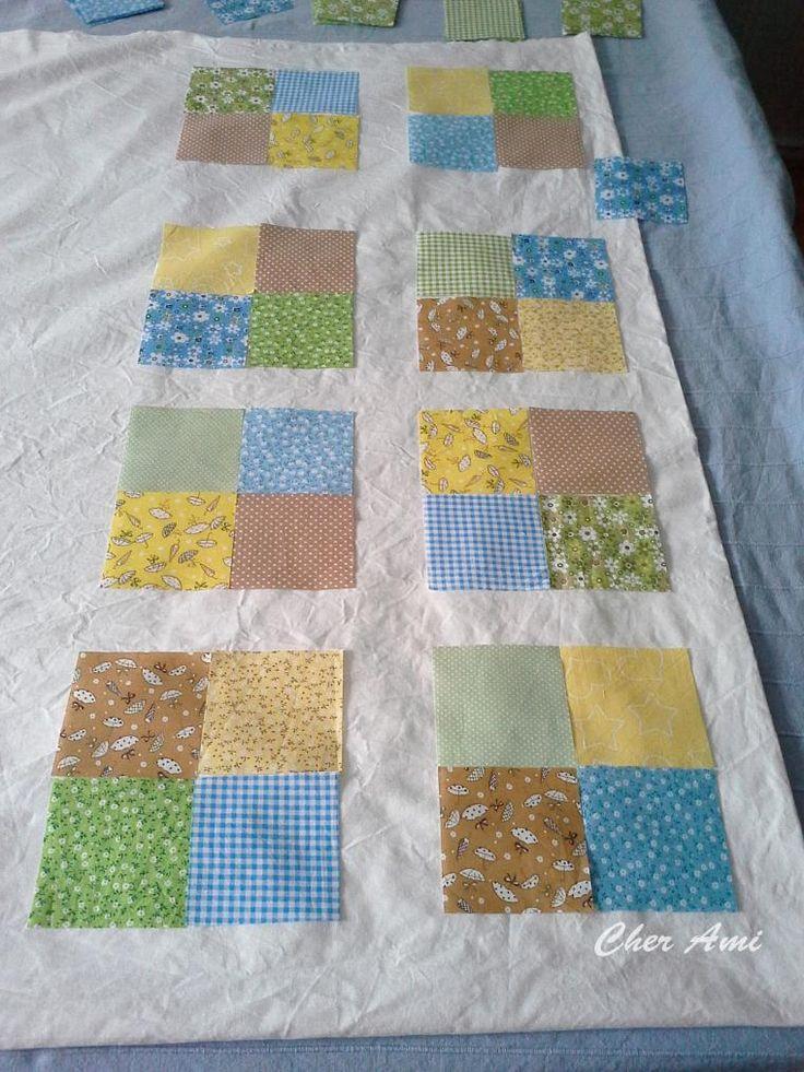 Мастер-класс: шьем несложное лоскутное одеяло - Ярмарка Мастеров - ручная работа, handmade