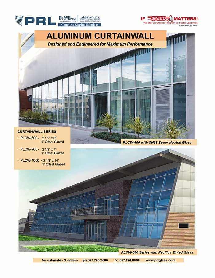 prl s curtain wall systems are offered
