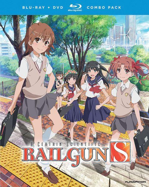 A Certain Scientific Railgun S Blu-ray/DVD
