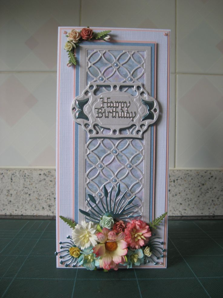 Made with Sue Wilson eternal rings striplet die and flowers from Wild Orchid