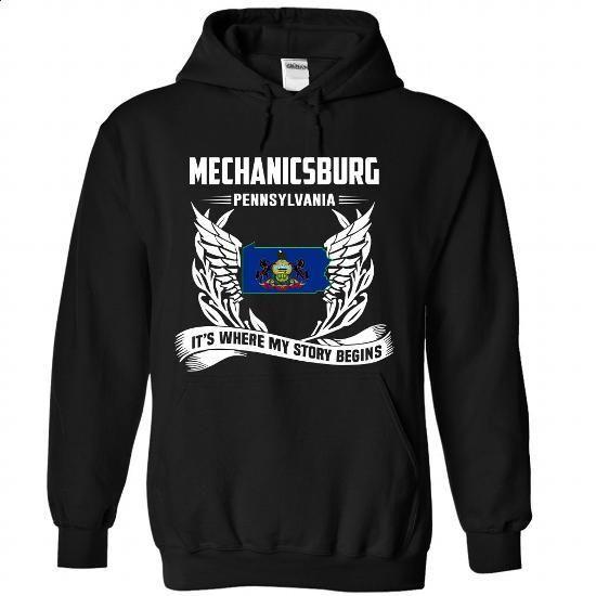 Mechanicsburg - #graphic hoodies #womens hoodie. GET YOURS => https://www.sunfrog.com/LifeStyle/Mechanicsburg-6088-Black-Hoodie.html?60505