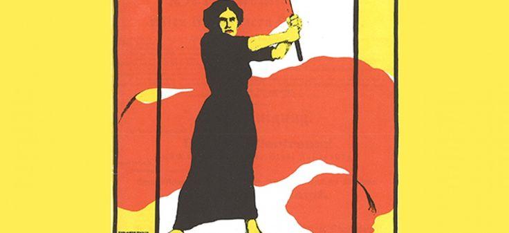 Affiche pour le 8 mars 1914 en Allemagne via Wikimedia Commons
