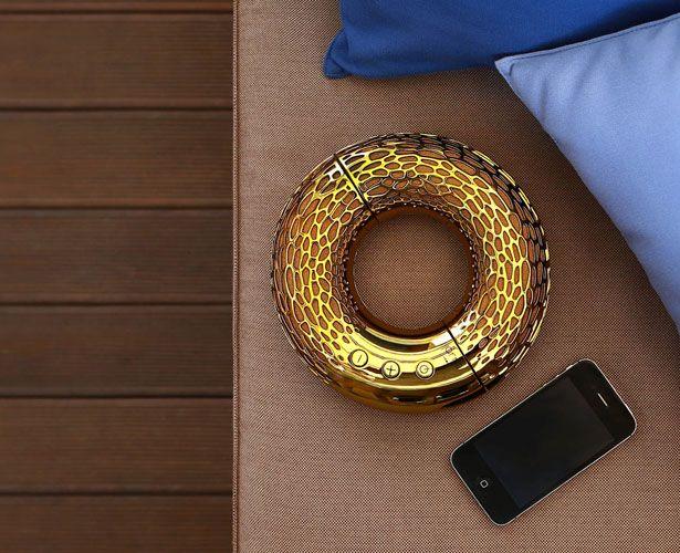 AeroTwist Portable Bluetooth Speaker by Kateryna Sokolova