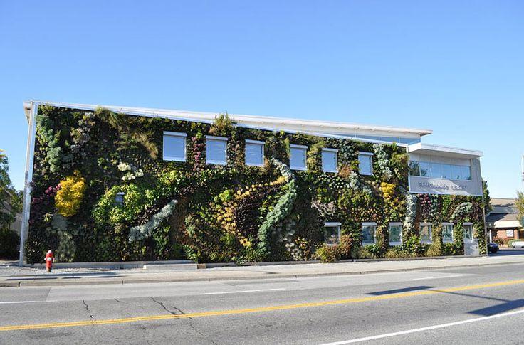 Уникальные идеи озеленения зданий от знаменитых архитекторов: стены и крыши, покрытые растительностью