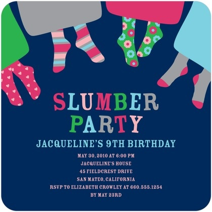 56 best images about Invitaciones Pijamada – Slumber Party Invite