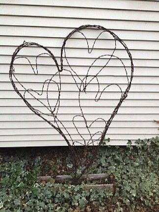 129 best Barbed Wire Art images on Pinterest | Barbed wire art ...