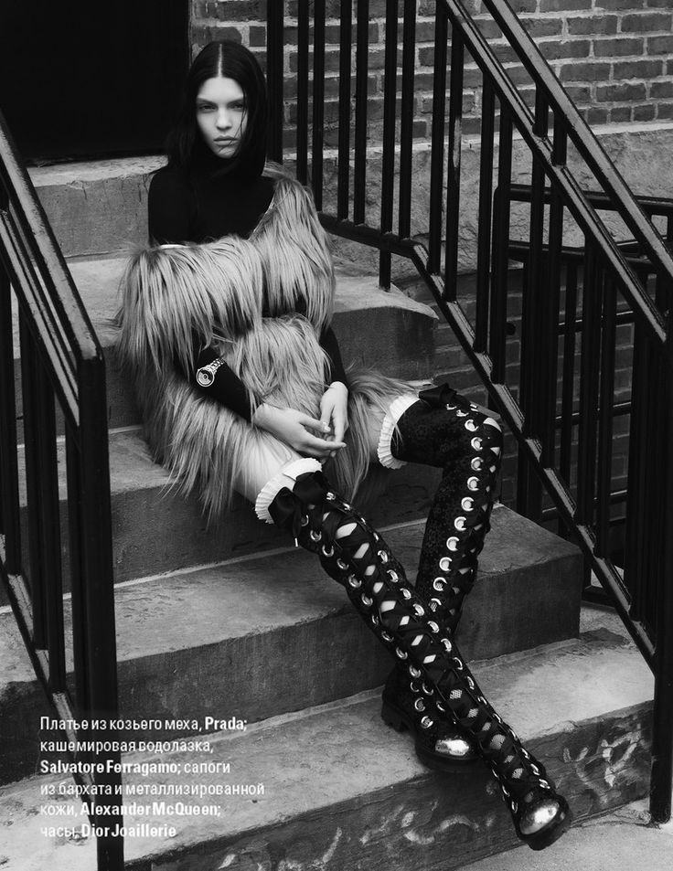 visual optimism; fashion editorials, shows, campaigns & more!: kate bogucharskaia by paul morel for vogue ukraine november 2014